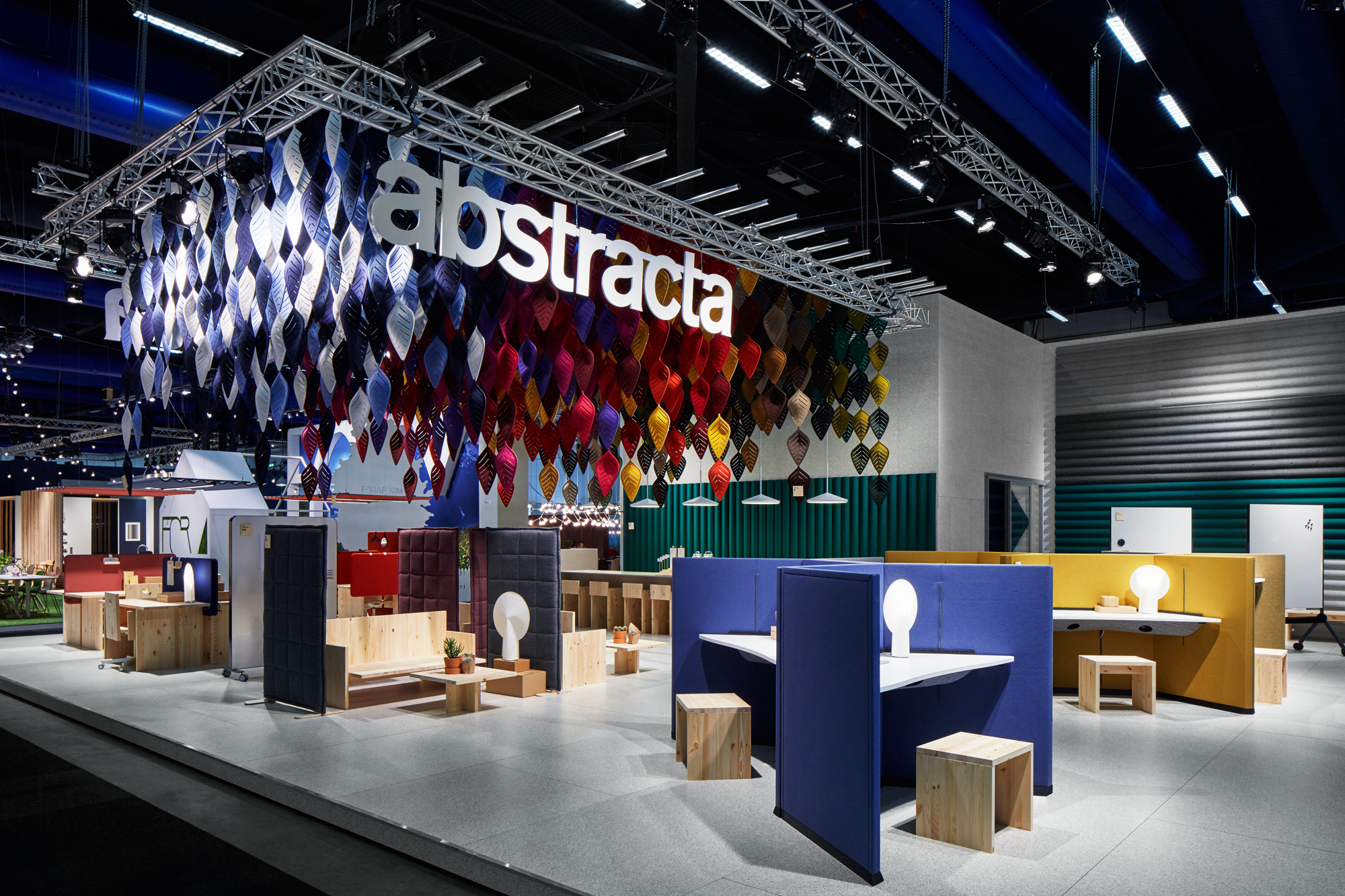 Abstracta Stockholm Furniture Fair 2016 Linus Berglund; Code Concept