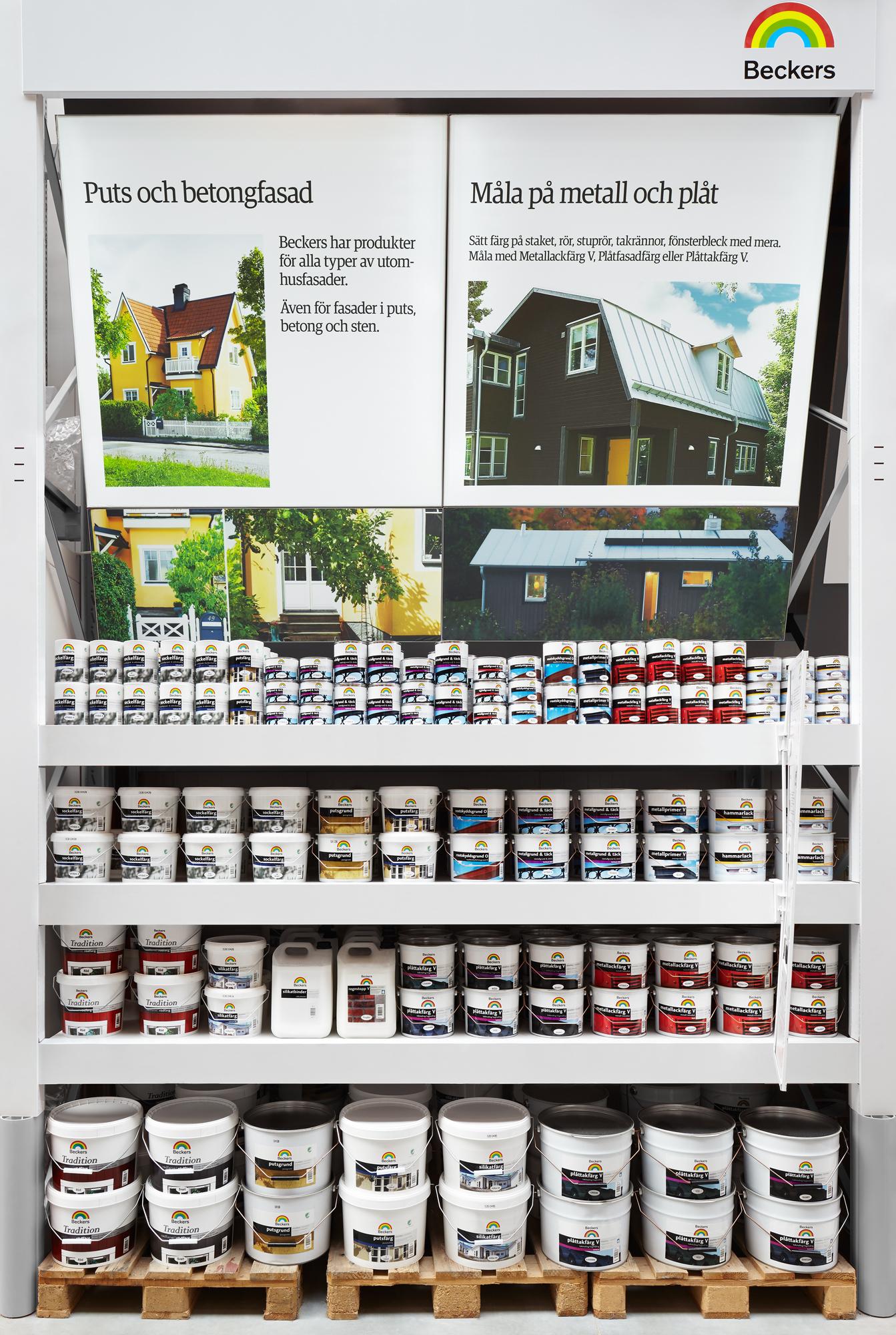 Beckers, Bauhaus Upplands Väsby Linus Berglund; Code Concept
